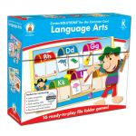 Language Arts File Folder Game, Grade K