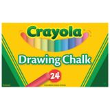 Crayola® Colored Drawing Chalk, 24 colors