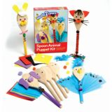 Ready2Learn™ Spoon Animals Puppet Kit
