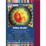 Tru-Ray® Fade-Resistant Construction Paper, 9 x 12, Burgundy