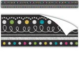 Clingy Thingies® Border, Chalkboard Brights