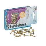 Paper Fasteners, 3/4, Box of 100