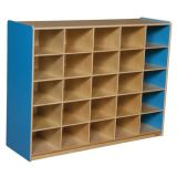 25-Tray Storage, 38H x 48W, Without Trays, Blueberry™
