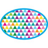 Magnetic Whiteboard Erasers, Color Triangles