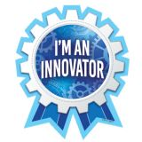 I'm an Innovator Reward Badges