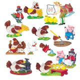 Little Red Hen Flannelboard Set