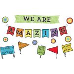 Celebrate Learning We Are Amazing Bulletin Board Set
