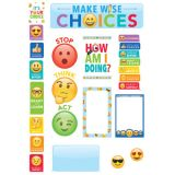 Emoji Fun Behavior Clip Chart Mini Bulletin Board Set