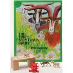 The Three Billy Goats Gruff 3-D Storybook