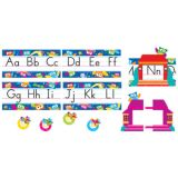Owl-Stars!® Alphabet Bulletin Board Set
