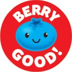 Friendly Fruit Stinky Stickers®, Large Round