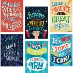 Inspire U™ What's Your Mindset? Posters, 6-Pack
