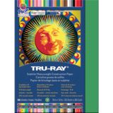 Tru-Ray® Fade-Resistant Construction Paper, 9 x 12, Holiday Green