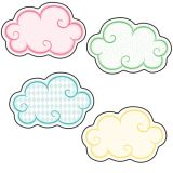 Up and Away Mini Cut-Outs, Clouds