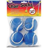 Chair Socks, Blue, Pack of 144