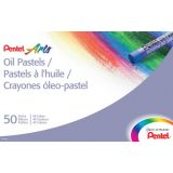 Pentel Arts® Oil Pastels, 50 count