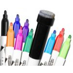 Student Markers with Erasers, Assorted Colors, Pack of 10