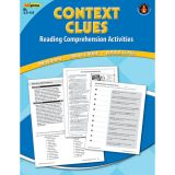 Context Clues Reading Comprehension Activities, Blue Level
