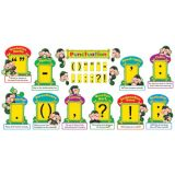 Monkey Mischief® Punctuation Bulletin Board Set