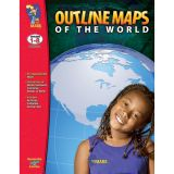 Outline Maps of the World