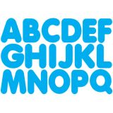 1-3/4 Magnetic Letters, Blue