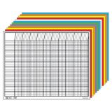 Horizontal Incentive Chart Set, Assorted Colors