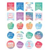 Watercolor Words to Inspire Stickers
