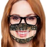 Adult Read My Lips Safety Mask