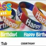Happy Birthday! Class Bands