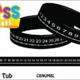 Number Line Class Bands