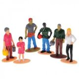 Multicultural Family Figures