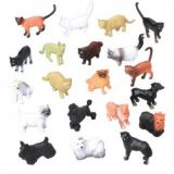 Cats and Dogs Animal Figures
