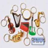 Music Instrument Keychain