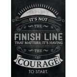 It's not the finish line…Inspire U poster