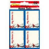 Cat in the Hat Name Tags