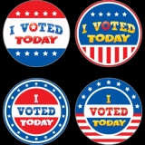I Voted Today Wear 'Em Badges