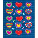Hearts Shape Stickers