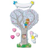 Caring Heart Tree Bulletin Board Set