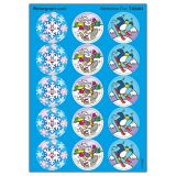 Wintertime Fun/Wintergreen Stinky Stickers - Large Round