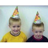 6 Party Animal Hats