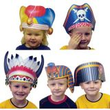 Imagination Hats, Set of 6