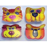 Animal Visors, Set of 6