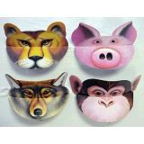 Party Animal Visors, Set of 6