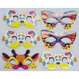 Animal Masks, Set of 6