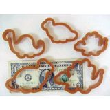 Dough Cutter Set, Dinosaurs