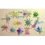 Glow in the Dark Insects, 12 per bag