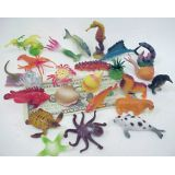 1-3 1/2 Sea Animals, 24 per bag