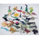 1-2 1/2 Sea Animals, 6 per bag