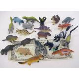 1-2 1/2 Wild Animals, 21 per bag