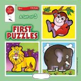 A Set of 3 First Puzzles: Jungle